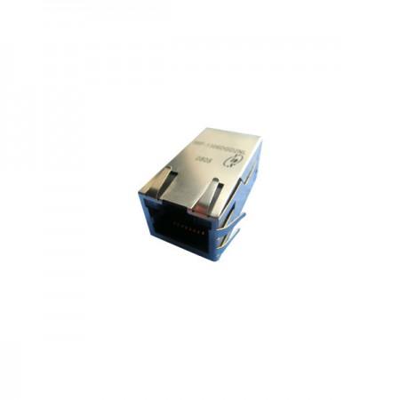 Single Port 10G Base-T PoE & PoE+ RJ45 Jack with Magnetics - Single Port 10G Base-T PoE & PoE+ RJ45 Jack with Magnetics