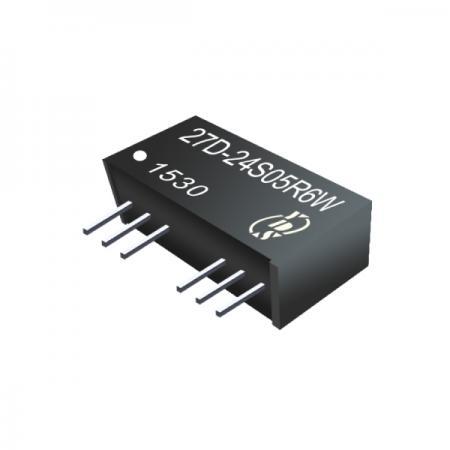 6W 1.5KV Isolation 2:1 SIP DC-DC Converter - 6W 1.5KV Isolation 2:1 SIP DC-DC Converter