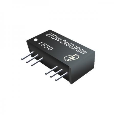 6W 1.5KV Isolation 4:1 SIP DC-DC Converter - 6W 1.5KV Isolation 4:1 SIP DC-DC Converter