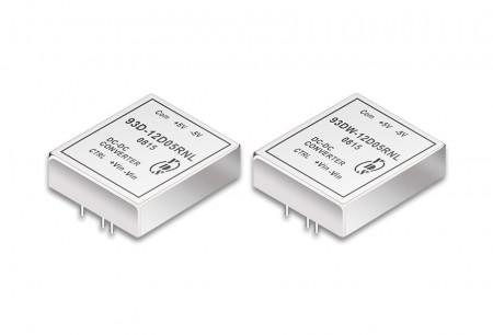 "DIP Package 3"" x 2.6"" 60W DC-DC Converters - 3"" x 2.6"" DIP Package DC-DC Converter 60W"