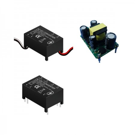 3W 3KVac Isolation Regulated Output AC-DC Converter (Module) - 3W 3KVac Isolation AC-DC Converter (Module)