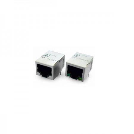 Single Port 10Base-T RJ45 Jack with Magnetics - Single Port 10Base-T RJ45 Jack With Magnetics