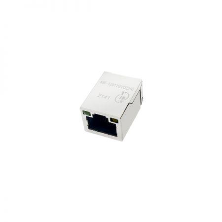 Single Port 10/100Base-T SMD RJ45 Jack with Magnetics - Single Port 10/100Base-T SMD RJ45 Jack with Magnetics