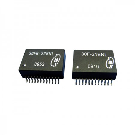 10/100/1000Base-T 24PIN SOIC LAN Filters - 10/100/1000Base-T 24PIN SOIC LAN Filters