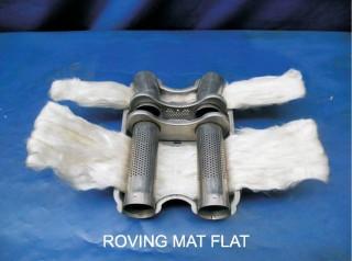 ECR roving mat 750 °C