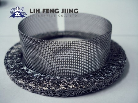 Knitted Wire Mesh Filters - Airbag Filters