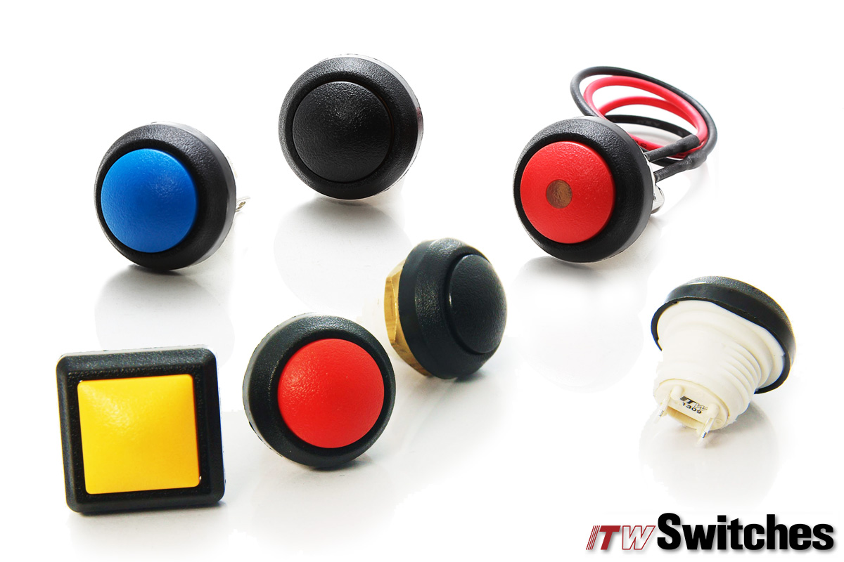 Ø12mm Pushbutton Switches - Pushbutton Switches Sealed Series 48