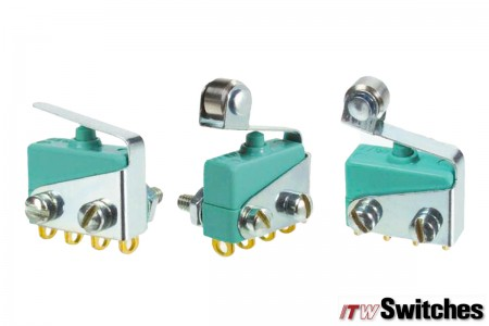 Snap Action Switches - Snap Action Switches Series 18 Actuators