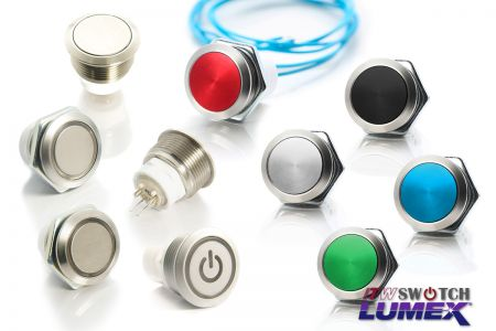 Ø19mm Pushbutton - Pushbutton-Ø19mm