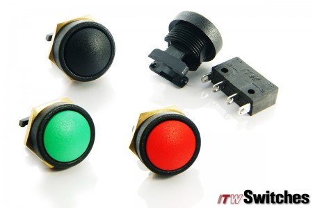 Ø16mm Pushbutton Switches - Pushbutton Switches Series 49-59 with Terminals