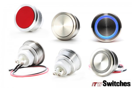 Ø22mm Screw Terminal Pushbutton Switches