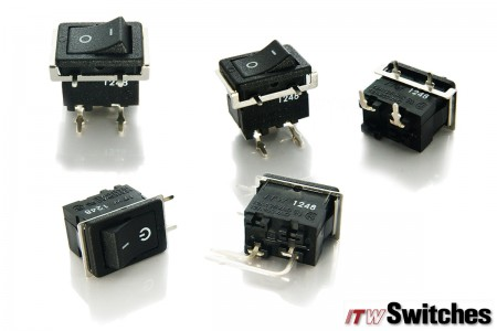 Rocker Switches - Rocker Switches Series M372