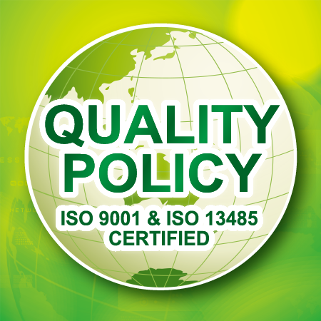 Asia Connection Co., Ltd. - Quality Policy