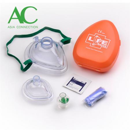 Adult CPR Pocket Mask in Hard Case - Adult CPR Pocket Mask in Hard Case