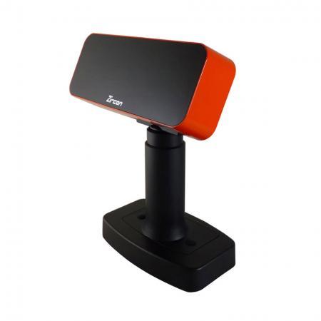 橘黑色客戶顯示器VFD-950