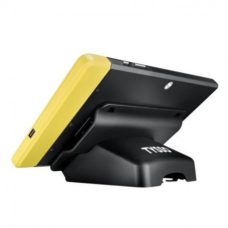 平板POS系統搭配3-Track 磁卡讀卡機 MSR/2D 條碼掃描器