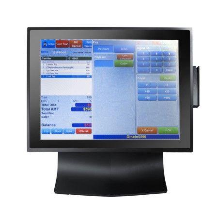 POS系統TP-8515軟體應用示意圖