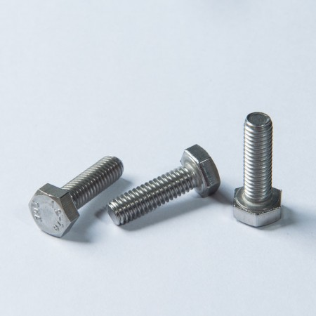 Indented Hex Head Bolt - Indented Stainless Steel Hex Head Bolt