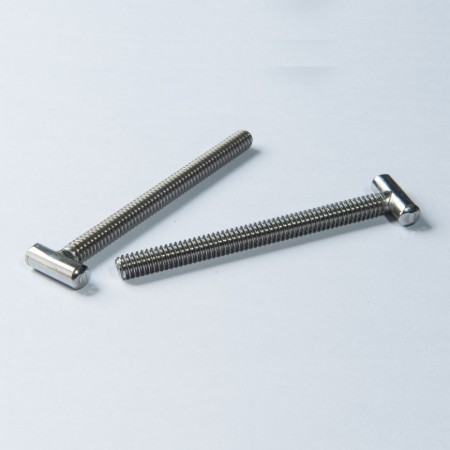 Stainless Steel T Head Bolt - Stainless Steel T Head Bolt w/ Fully Threaded Coarse Machine Thread