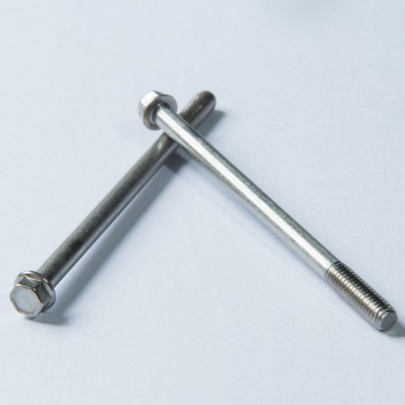 Chamfered Hex Washer Head - Chamfered Hex Washer Head Produced under DIN Regulation, Partially Threaded