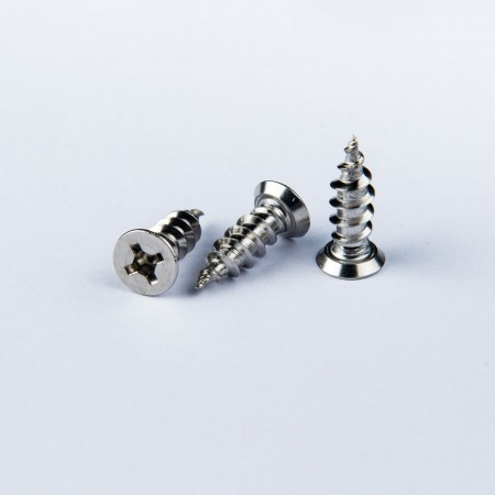 Flat Head Tapping - Flat Head Phillips Square Rec Screw w/ Tapping Type A