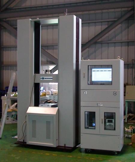 computer serve universal testing machine