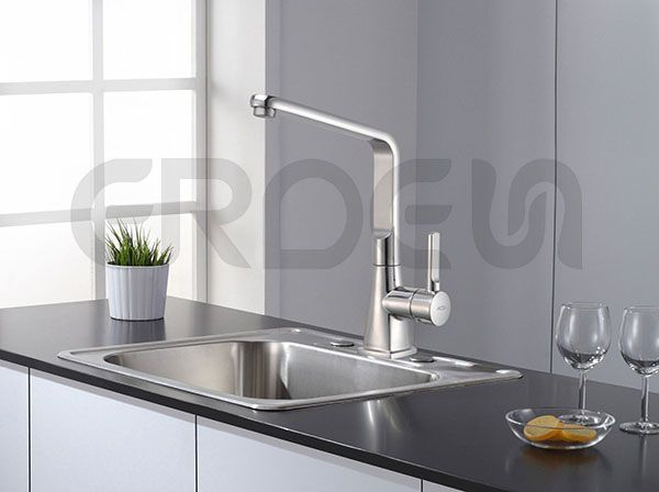 Stainless Steel 105 Degree Kitchen Faucet Manufacturing Strongco