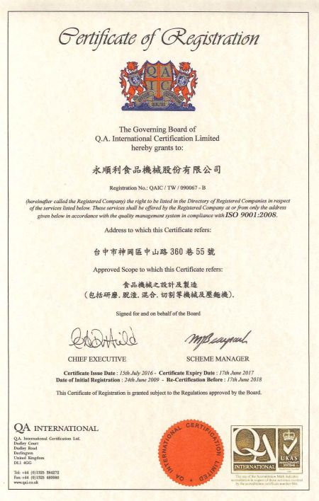 ISO 9001 (Chinese Version)