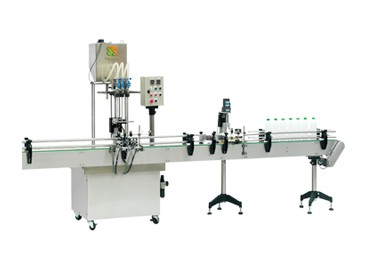 Automatic Screw Cap Machine