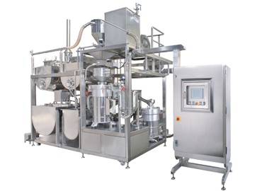Twin Grinding & Okara Separating & Cooking Machine