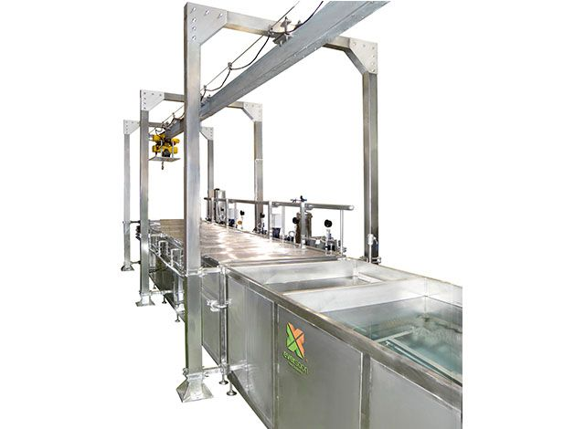 Sterilizing and Cooling Equipment - Three-Stage Low Temperature Sterilization Machine
