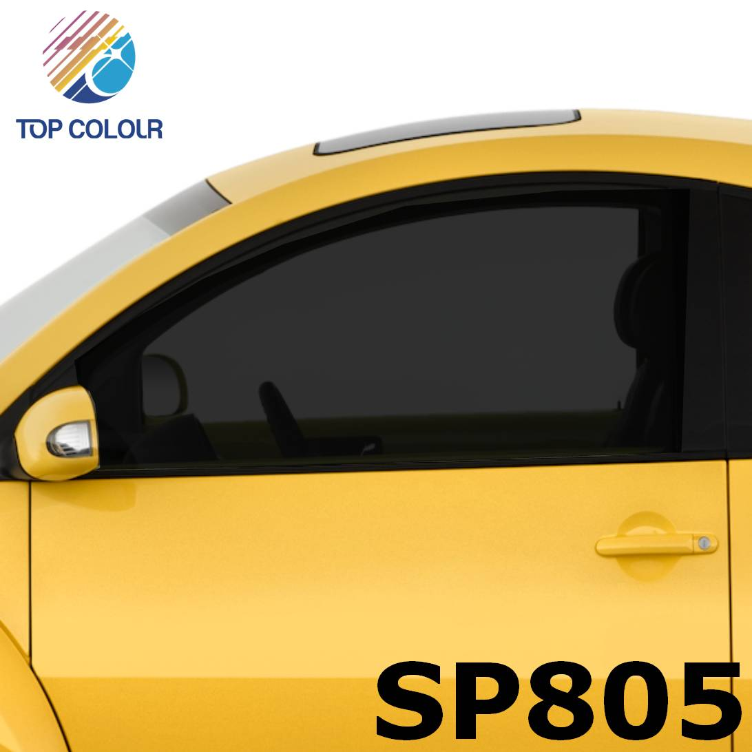 Tinted Dyed Car Window Film SP805 - Dyed SP805 sun control film