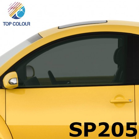 Tinted Dyed Window Privacy Film SP205 - Dyed SP205 sun control film