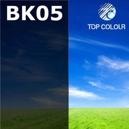 Glue tinted window film BLACK 5% - Tinted sun control film BK05