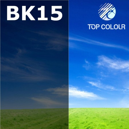Glue tinted window film BLACK 15% - Tinted sun control film BK15