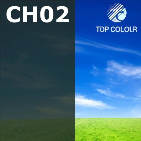 Glue tinted window film CHARCOAL 2%