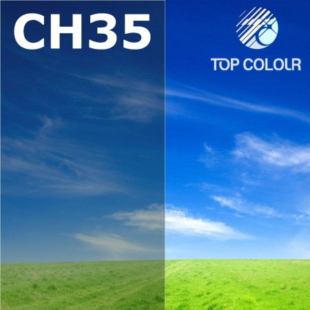 Glue tinted window film CHARCOAL 40% - Tinted sun control film CH35