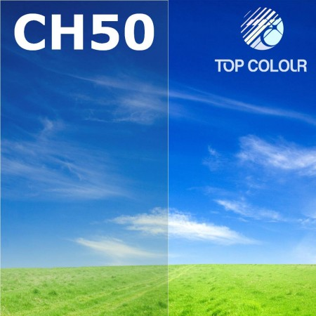 Glue tinted window film CHARCOAL 50% - Tinted sun control film CH50