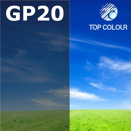 Glue tinted window film GRAPHITE 22% - Tinted sun control film GP20