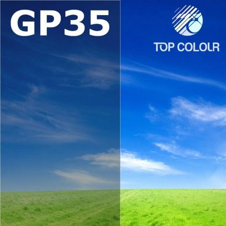 Glue tinted window film GRAPHITE 35% - Tinted sun control film GP35