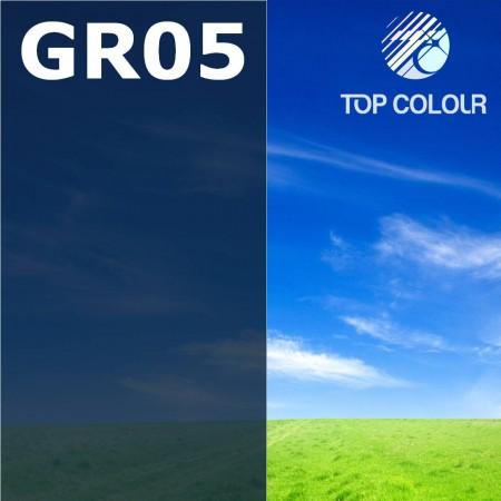 Glue tinted window film GREY 5% - Tinted sun control film GR05