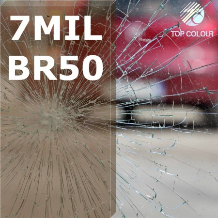 Safety window film SRCBR50-7MIL - Safety window film SRCBR50-7MIL