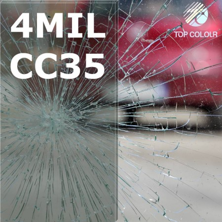 Safety window film SRCCC35-4MIL - Safety window film SRCCC35-4MIL