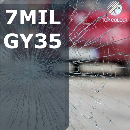 Safety window film SRCGY35-7MIL - Safety window film SRCGY35-7MIL