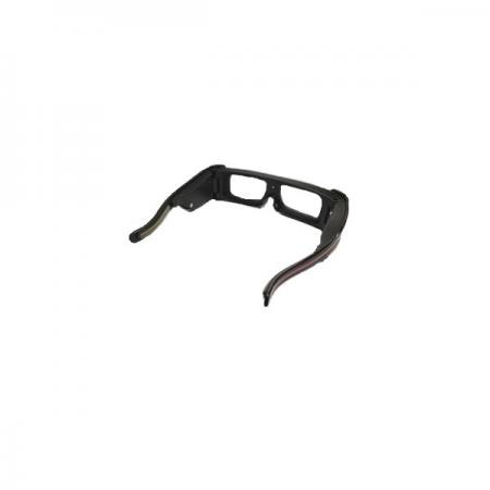 FORESHOT technology applied in 3D eye frame.