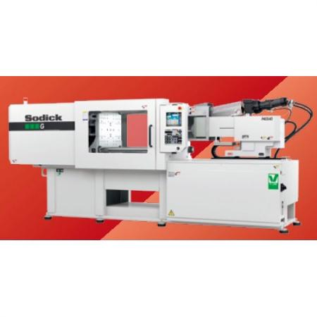 Import advanced Sodick-V-LINE Electric Hybrid Injection Molding Machine, provides precise and stable injection quality.