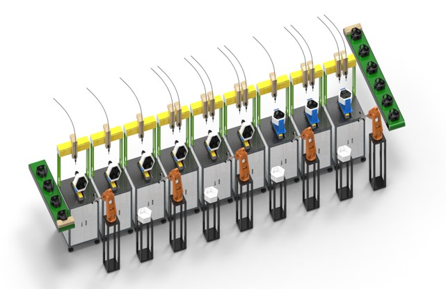 FORESHOT import automation system which can increase capacity