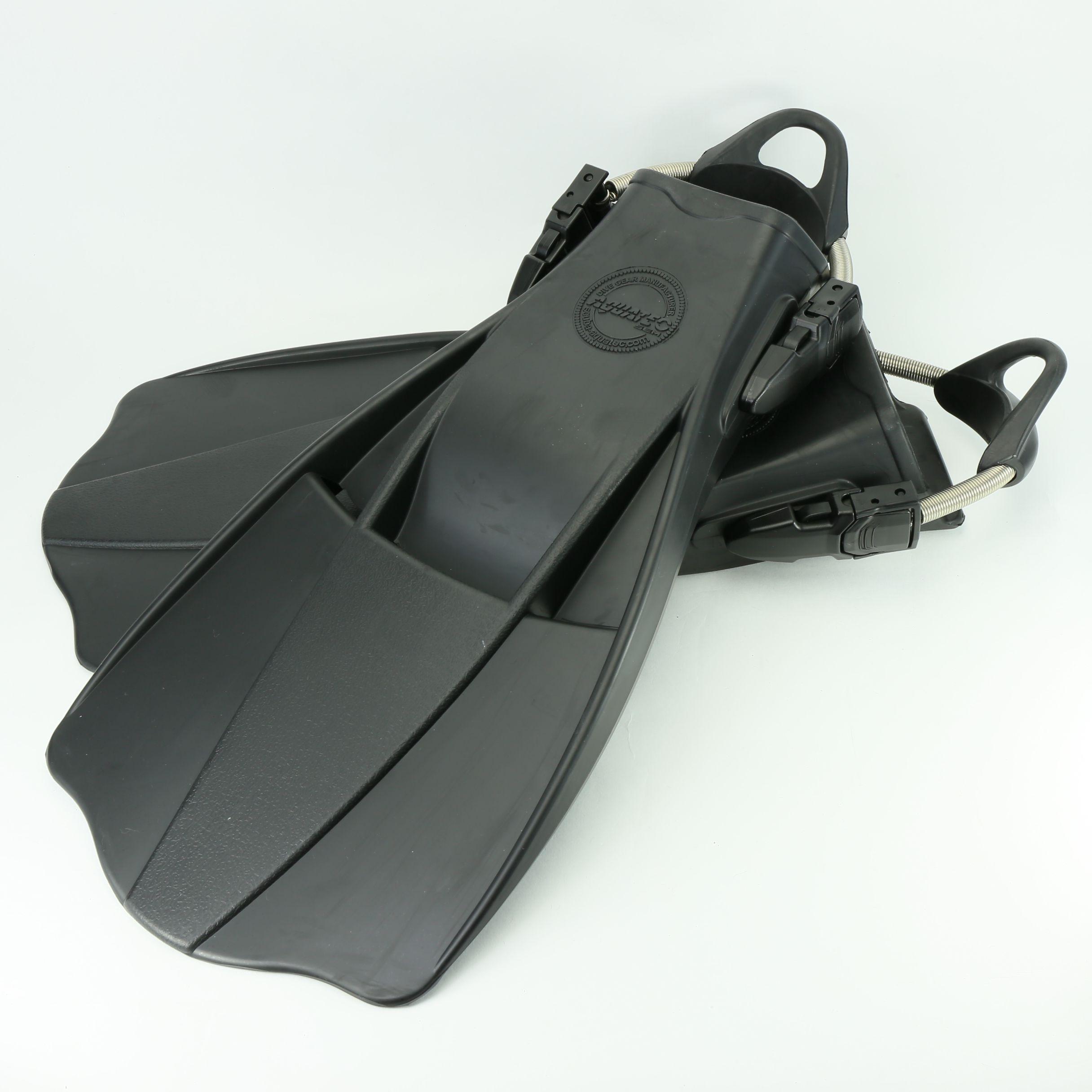 Kleurrijke totem militaire JetFin - Aquatec Black JetFin