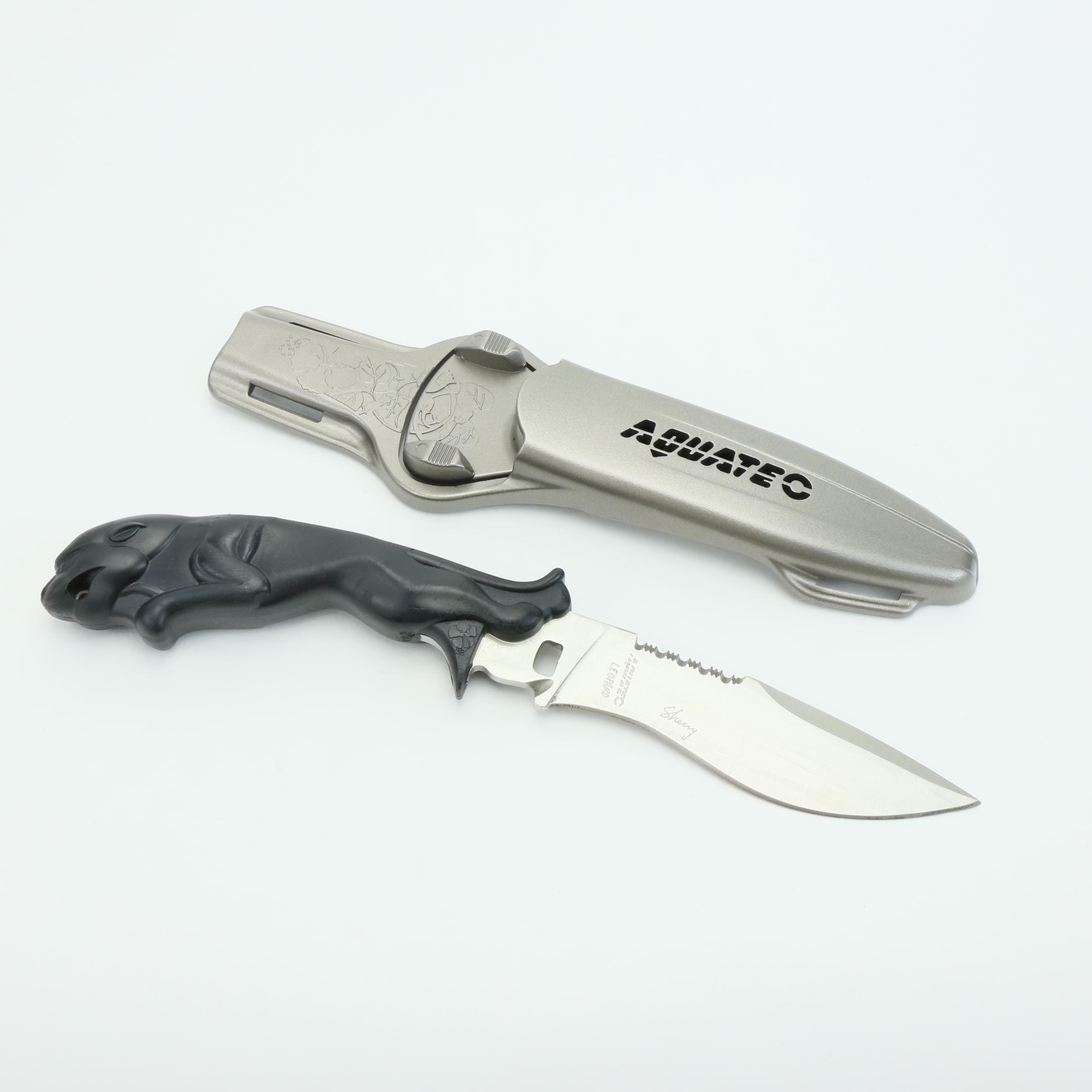 Couteau de plong e couteau de plong e haute qualit - Couteau de qualite ...