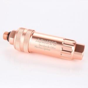 玫瑰金活性碳過濾加濕器。
